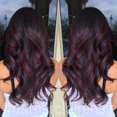 L'ombré Hair sur Une Base Brune Ou Marron : C'est L'idée Idéale pour Réussir sa Coloration | Coiffure simple et facile
