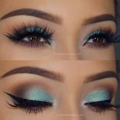 Brown Eyes Makeup 627548529307692590 - 30 MAKEUP SEES BROWN EYES The brown eyes are just beautiful, but very sober. The best thing about brown eyes is that you can play with any combination of make-up! Make up for d… EYELINER Source by Makeup Looks For Brown Eyes, Brown Makeup, Blue Eye Makeup, Smokey Eye Makeup, Skin Makeup, Green Eyeshadow, Smoky Eye, Blue Eyeshadow For Brown Eyes, Turquoise Eye Makeup