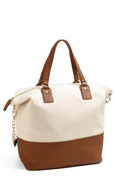 Cesca Two-Tone Tote (Juniors) available at #Nordstrom