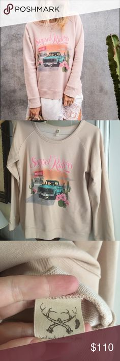 Spell and The Gypsy Sunset Riders Sloppy Joe Md. New!!! WIT's Spell Sloppy joe... size medium and gray for this fall and winter. Took the tags off but haven't worn it. Fit size Sm-Lg depending on look. It is over sized and looks gray with jeans! Spell & The Gypsy Collective Sweaters Crew & Scoop Necks