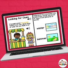 This interactive deck features a variety of answering question formats. The questions target making inferences from the photos shown. Audio instructions are included as well as audio for the sentences which makes it great for a variety of levels! This deck includes 24 cards. Target making inferences, categorization, answering questions and many more with this deck!