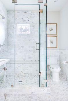 Bathroom Bliss. Walk-In Shower.