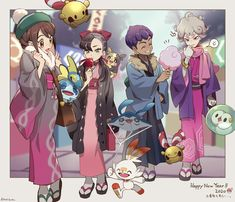 Pokemon Happy New Year Pokemon Mew, Pokemon Comics, Pokemon Fan Art, Pokemon Alola, Pokemon Ships, Pokemon Funny, Pikachu, Pokemon Gijinka, Pokemon Stuff
