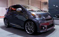 Scion Iq - Gray. I am goin to own one of these!!!!!