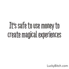 """""""It's safe…."""" Inspiring quotes about money from Denise Duffield-Thomas, author of """"Get Rich, Lucky Bitch"""""""