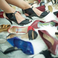 Just a Shoe-aholic™ deciding what shoes to wear! How do you decide?