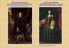 QUADRO DE MARIA LUISA DE ORLEÃES E CARLOS II DA ESPANHA