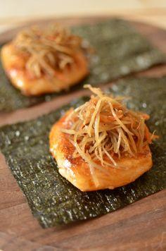 Japanese food / きんぴらとお餅
