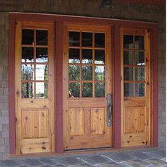 Wood Exterior Doors Photo Gallery - Homestead Doors - The affordable door store.