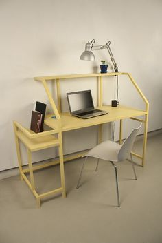Yellow Desk by Mike Haley