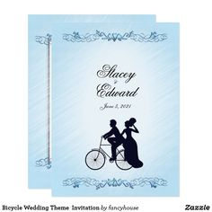 Bicycle Wedding Them