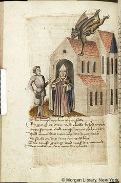 Hugo, von Trimberg, ca. 1230-ca. 1313. Der Renner Austria, probably in Tyrol, last quarter of the 15th century MS M.763 Folio 117v