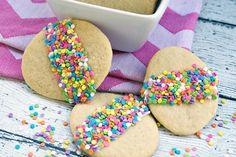 Easy Easter Egg Cookies — with Sprinkles!   thegoodstuff