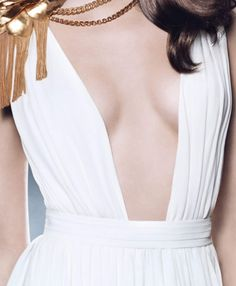 Paco Rabanne Olympea greek white dress (chiton) Clio Muse, Olympia, Paco Rabanne, Costumes, Costume Ideas, Fasion, White Dress, Fancy Clothes, Pop Art