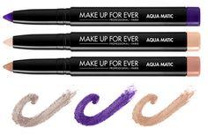 Make up for ever - verão 2014. Bem bacana.   www.viveraos60.com.br