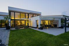 Ampelschirm Weiß ☂ Glatz Sombrano ☂ Moderner Garten