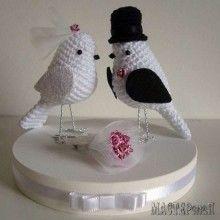 Свадебные птички
