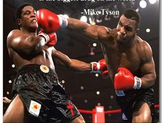 Mike Tyson Motivational Quotes Boxing Art Silk Poster 12x12 24x24