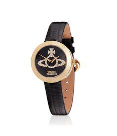Black/Gold Queensgate Watch