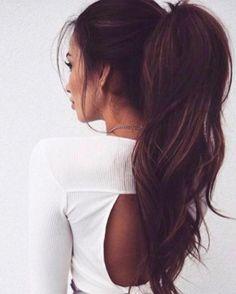 Brunette ambition    #brunette #brownhair #ponytail #highpony #brunettes #brunettehair #brownhair #remyhair #bunnybearhair #haironline #naturalhair #clipinponytail #tapehair #tapehairextensions #hairextensions #hairextensionsonline #longhair #tapeinhairextensions #hairstyle #hairdo #updo #bridalhair #longhairdontcare #hairvibes #instahair #facebook #pinterest #tumblr #twitter #sharethelove @bunnybearhair