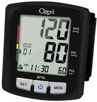 Beauty, Health and Everything Else: Ozeri BP5K Digital Blood Pressure Monitor