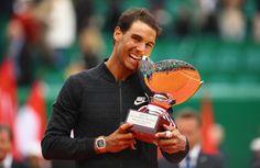 Rafael wins 10th Monte Carlo Masters. 2017. Awesome!