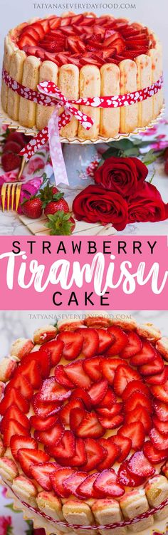 The most delicate, no-bake strawberry cake! You will fall in love with this strawberry tiramisu-inspired creation! The cake layers are made using ladyfingers dipped into strawberry puree and filled with a silky smooth custard and mascarpone filling. This strawberry tiramisu cake is light as air and literally melts in your mouth! It's the perfect way […]