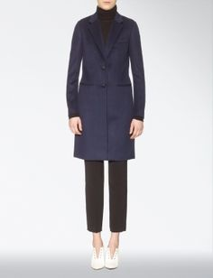 Discover the world of British-based luxury fashion label JOSEPH. Shop new womenswear and menswear collections with worldwide shipping and free returns. Man Coat, Long A Line, Wool Blend, Joseph, Cashmere, Elegant, Chic, How To Wear, Coats