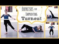 How to Improve Ballet Turnout. Correct turnout sets the stage for most of ballet's beautiful movement. But poor or incorrect turnout can limit your range of movement and lead to knee problems. Simply put turnout is the basis for the. Dance Teacher, Dance Class, Ballet Class, Ballet Studio, Ballet Stretches, Dance Technique, Ballet Barre, City Ballet, Dance Training