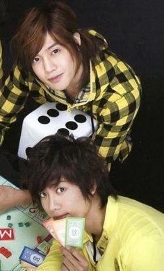 HJ & KJ <3   ::) I am ready to play monopoly!!  #Kpop #Koreanfever #SS501 #KyuJong #HyunJoong
