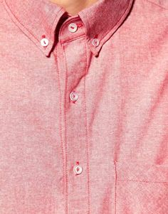 American Apparel Red Chambray