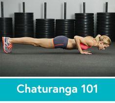 Yoga 101: How to Perfect Your Chaturanga Pose