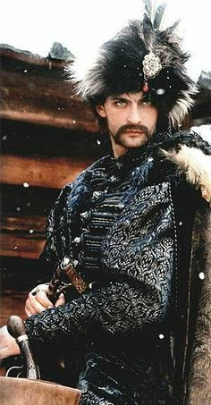 Yuri Bohun from 'With Fire and Sword' movie. I want that hat!
