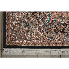 Immerse yourself in the fantasy of a Persian garden in this delightful area rug. Its intricate design teems with floral life and classic paisley motifs anchored by an ornate center… Persian Palace, Persian Garden, Traditional Area Rugs, Animal Print Rug, Tapestry, Fantasy, Classic, Collection, Design