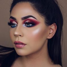 """88.5k Likes, 390 Comments - Morphe (@morphebrushes) on Instagram: """"You babes came to slay with this Holiday Collection. ⚔️ @dianamaria_mua grabbed the 39A Dare To…"""""""