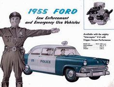 1955 Ford Squad Car Ad