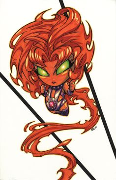 Baby Starfire  by *olivernome