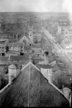 View from St. Mary's Cathedral, 1916
