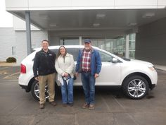 Anthony Boudreau and the rest of us here at Court Street Ford would like to say congratulations to Precision Piping on the purchase of their 2014 Ford Edge.  Thank you for your business!