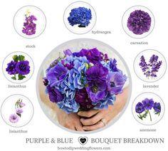 How to make a bouquet! Blue Wedding Ideas & flowers. Blue white Wedding Palette Decor and Cake. Blue Wedding inspiration. How to make a Wedding bouquet. #greenerywedding #blueweddings #blueflowers #diybouquet #summerwedding #bouquet #weddingtrends