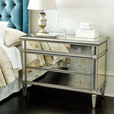 I never really paid much attention to mirrored furniture until a beautiful mirrored chest was brought to my house during the recent livin...