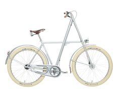 Arrow - A Velorbis bike - Nordic Design Velo Design, Bicycle Design, Mountain Bicycle, Mountain Biking, Cross Country Trip, Retro Bicycle, Cafe Racer Build, Belt Drive, Cool Bike Accessories