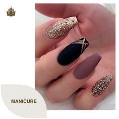 White Acrylic Nails, Acrylic Nail Art, Matte Nails, Acrylic Nail Designs, Nail Art Designs, White Nail, Black Nails, Nails Design, Matte Black