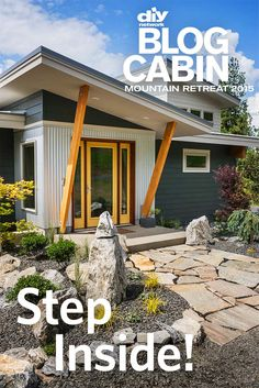 Blog Cabin 2015 is open! Tour every room and outdoor space >> http://www.diynetwork.com/blog-cabin?soc=pinterestbc15 And don't forget our open house pin party Thursday at 8 pm!