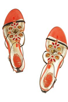 OMG! Love these shoes!!!! and just love the orange!