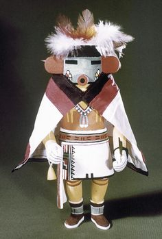 The Kachinas are known to be the spirits of deities, natural elements or animals, or the deceased ancestors of the Hopi.Kachinas are understood as having humanlike relationships; they may have uncles, sisters, and grandmothers, and may marry and have children.