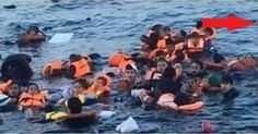 Famous Pic of Refugees Exposed as Massive Fraud? Look What They Cut Out