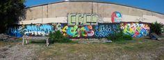 Wall at graff park