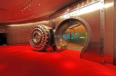 The vault for the Coca Cola recipe. Wouldn't something a little less conspicuous make more sense?