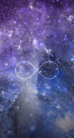 infinity sign | Infinity Symbol Galaxy | cute symbols ...